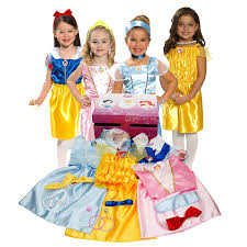 Halloween Costumes For A Family Of 3 Amazon Com Disney Princess Dress Up Trunk Amazon Exclusive