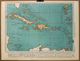 Carribbean Map Greater Antilles Political Map Caribbean Cuba Jamaica Haiti Map