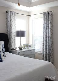 curtains for master bedroom making the case for hanging curtains in your rental the homes i