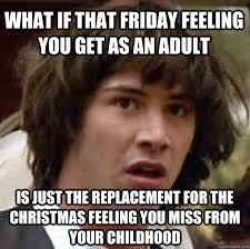 Friday Adult Memes - what if that friday feeling you get as an adult is just the