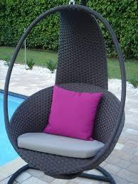 Egg Chair Hanging Outdoor Modern Rattan Effect Swinging Egg Chair Garden Furniture Modern