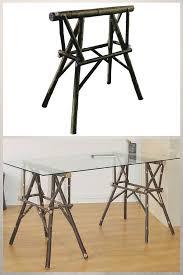 bureau brut tréteaux design 21 idées pour la table ou le bureau