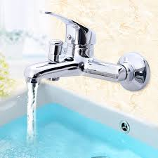 Kitchen Tap Faucet Kitchen And Bathroom Chrome Basin Wash Faucet Cold Mixer Water