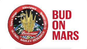 New York how long does it take to travel to mars images Anheuser busch to launch barley into space as part of budweiser on jpg