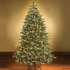 staggering white pre lit tree white slim pre