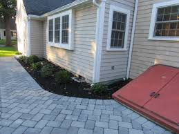 front and backyard upgrades at hingham home mento landscape