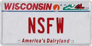 Banned Vanity Plates Dnyd Pl8s License Plates Denied In Wisconsin