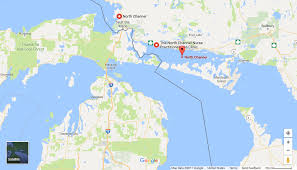 Google United States Map by 100 Map Of Mackinac Island Below The Boat San Juan Islands