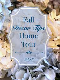 dimples and tangles fall decor tips home tour 2017