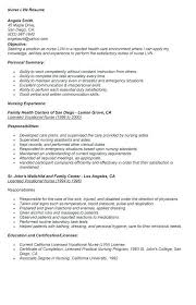lpn resume template nursing home resume exles exles of resumes