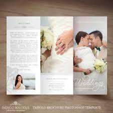 wedding photography brochure template wedding photographer flyer