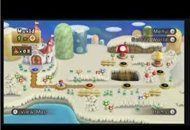 Super Mario World Map Image Map Png Newer Super Mario Bros Wiki Fandom Powered By