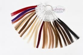 permanent extensions colour wheel permanent hair extension showpony professional