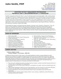 It Risk Management Resume Project Manager Resume Sample Project Manager Cv Examples And