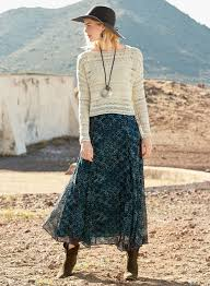 Nevada Travel Clothing images Sierra nevada silk skirt women 39 s boho skirts long silk skirts jpg