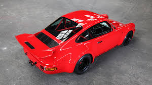 porsche old red 1974 porsche 911 tuned to look bloody delicious