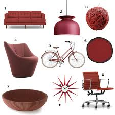 Home Design Furnishings Pantone Color Of The Year 2015 Marsala Home Decor Design Milk