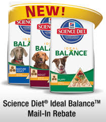 science diet dog food free after rebate natural thrifty