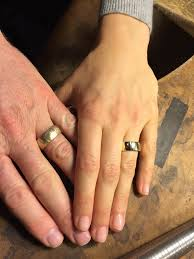 non wedding rings matching or non matching wedding rings phillips jewellery