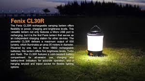 Fenix Lights Fenix Cl30r Rechargeable Lantern Light Fenix Tactical Led