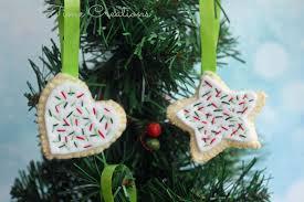 felt cookie ornaments tutorial sew savory