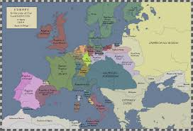Europe 1815 Map by Lttw Map Of Europe 1809 By Blamedthande On Deviantart