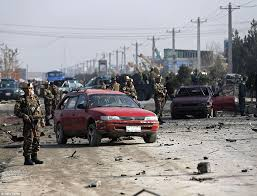 Car Interior Smoke Bomb British Officer Among 5 Killed In Kabul Bomb Attack On