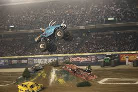 videos of monster trucks racing top 10 scariest monster trucks truck trend