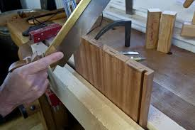 How To Make A Layout Blind How To Make A Full Blind Dovetails With Rabbeting