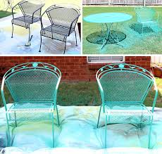 Iron Patio Table Set Patio Furniture Table And Chairs How To Paint A Wrought Iron Patio
