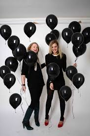 halloween photo booth background black balloon a young fashion label from ghent i am what i play