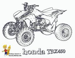 four wheeler coloring pages printable awesome atv coloring free