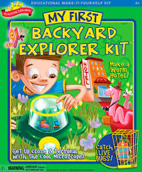 Backyard Activities For Kids Amazon Com Scientific Explorer Backyard Kit Toys U0026 Games