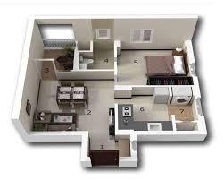 homeplan 13 1 bhk home plan 1 free download plans house plan layout