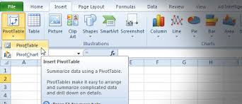 how to do a pivot table in excel 2010 how to use excel pivot tables