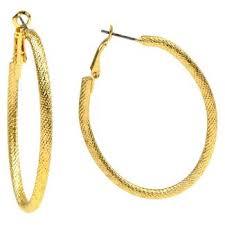 oval hoop earrings gold oval hoop earrings target