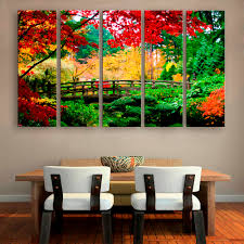 Home Decoration Painting by Online Get Cheap Painting Forest Aliexpress Com Alibaba Group