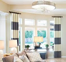 Curtains For A Large Window Fascinating Curtain Rods For Large Windows 34 On Door Curtains