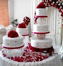 wedding cake structures 5 tier wedding cake with light balls roses and petals