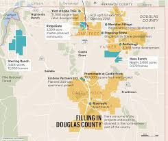 Lone Tree Colorado Map by Development Is Poised To Transform Douglas County Denver