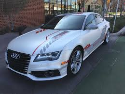 audi a7 modified this audi is raring to do its own driving houston chronicle