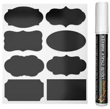 stickers black picture more detailed picture about chalkboard