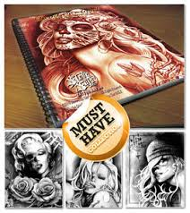 tattoo flash books steve soto designs u0027devil angels u0027 brand new