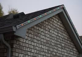 how to install christmas lights stunning outdoor christmas lights a permanent and convenient solution