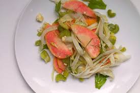 pink pearl apple fennel and celery salad fork my life