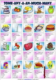 some or any esl grammar exercise worksheet esl printable grammar