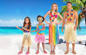 Tropical Themed Clothes - luau party supplies hawaiian luau decorations party city