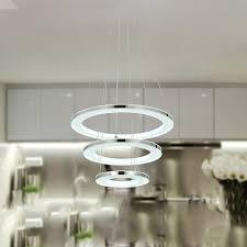 ladari per sala da pranzo anello cerchi moderno led ladari per sala da pranzo
