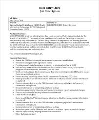 Data Entry Responsibilities Resume Interesting Cashier Resume Examples For Job Application Vntask Com