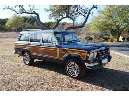 old jeep grand wagoneer classic jeep grand wagoneer for sale on classiccars com
